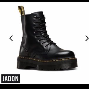 Dr. Martens Jadon Black Smooth